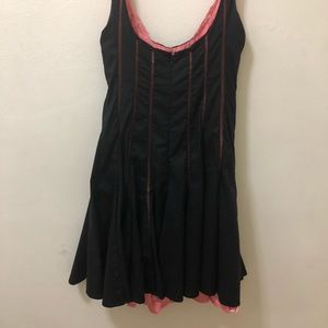 Bebe Black and Pink Party Dress. Sz. XS